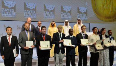 Zayed Future Energy Prize 2018