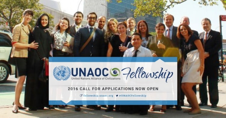 Call for Applications: UNAOC Fellowship Program 2017