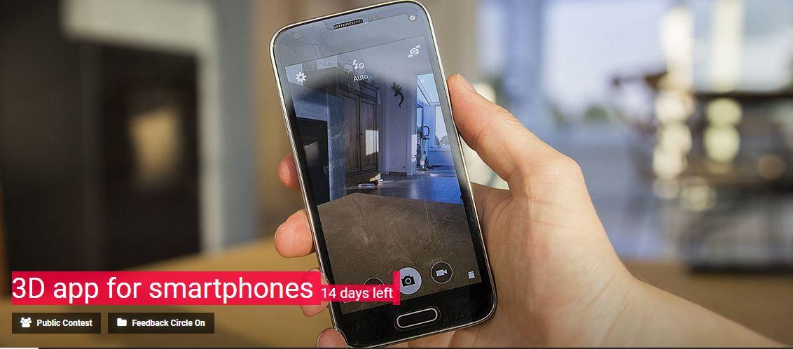 3D app for smartphones contest