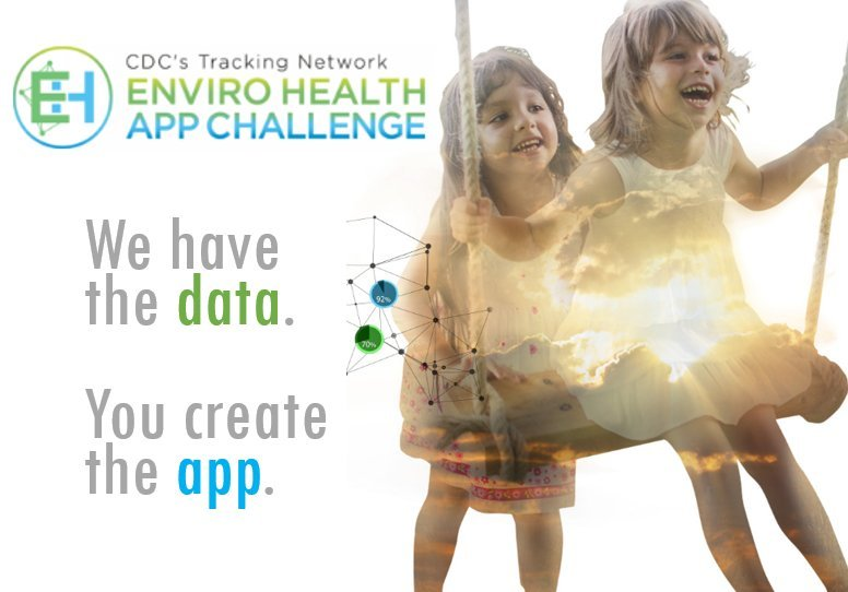 CDC's Tracking Network Enviro Health App Challenge