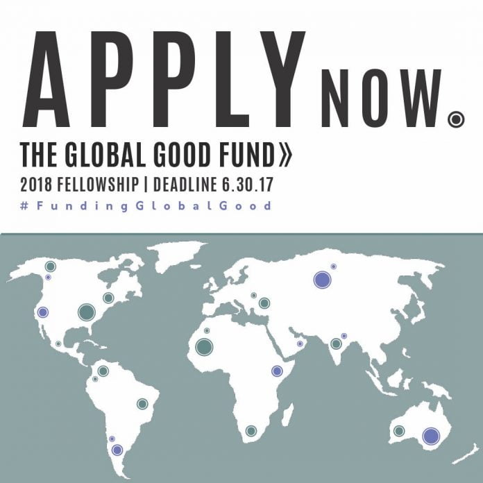 Global Good Fund 2017/2018 Fellowships