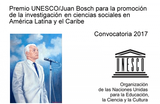 Juan Bosch Prize for the Promotion of Social Science Research 2017