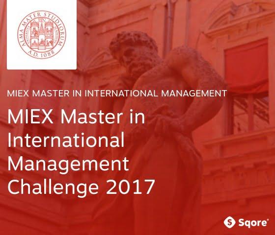 MIEX Master in International Management Challenge 2017