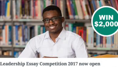 UONGOZI Institute Leadership Essay Competition 2017 for Young Africans