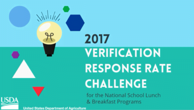 USDA School Meal Programs Verification Response Rate Challenge