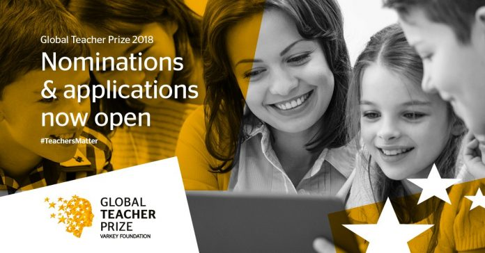 $1 Million Global Teacher Prize 2018 for Outstanding Teachers Worldwide