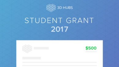 3D Hubs Student Grant 2017 Competition