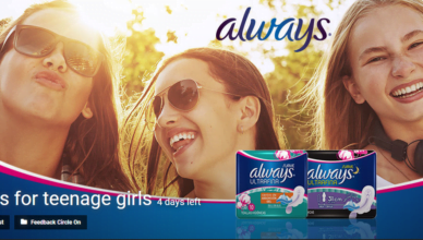 Always for teenage girls poster contest