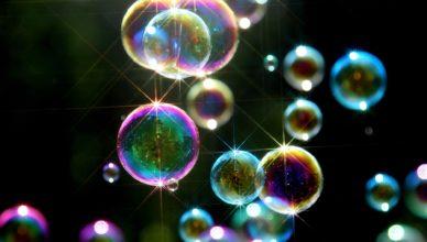 Powerup soap bubbles