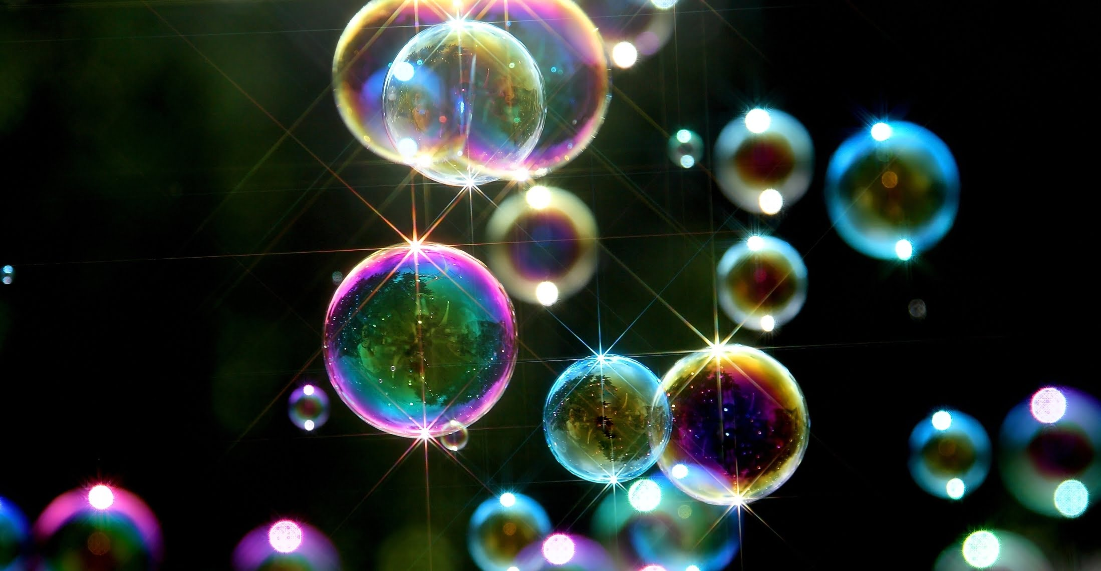 Powerup soap bubbles