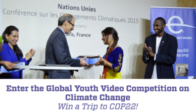 UNFCCC Global Youth Video Competition 2017