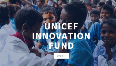 Apply to the UNICEF Innovation Fund 2017