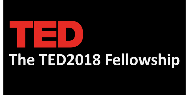 TED Fellows program 2018