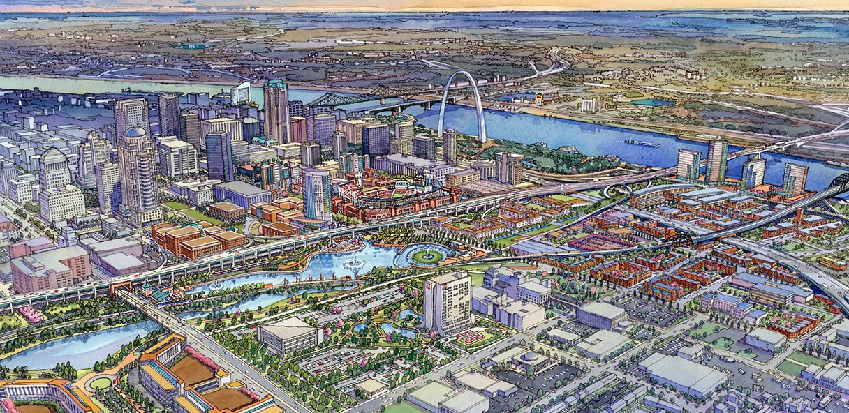 Chouteau Greenway International Design Competition