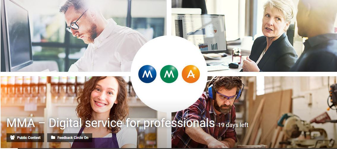 MMA – Digital service for professionals