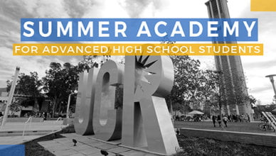 Summer Academy Students challenge