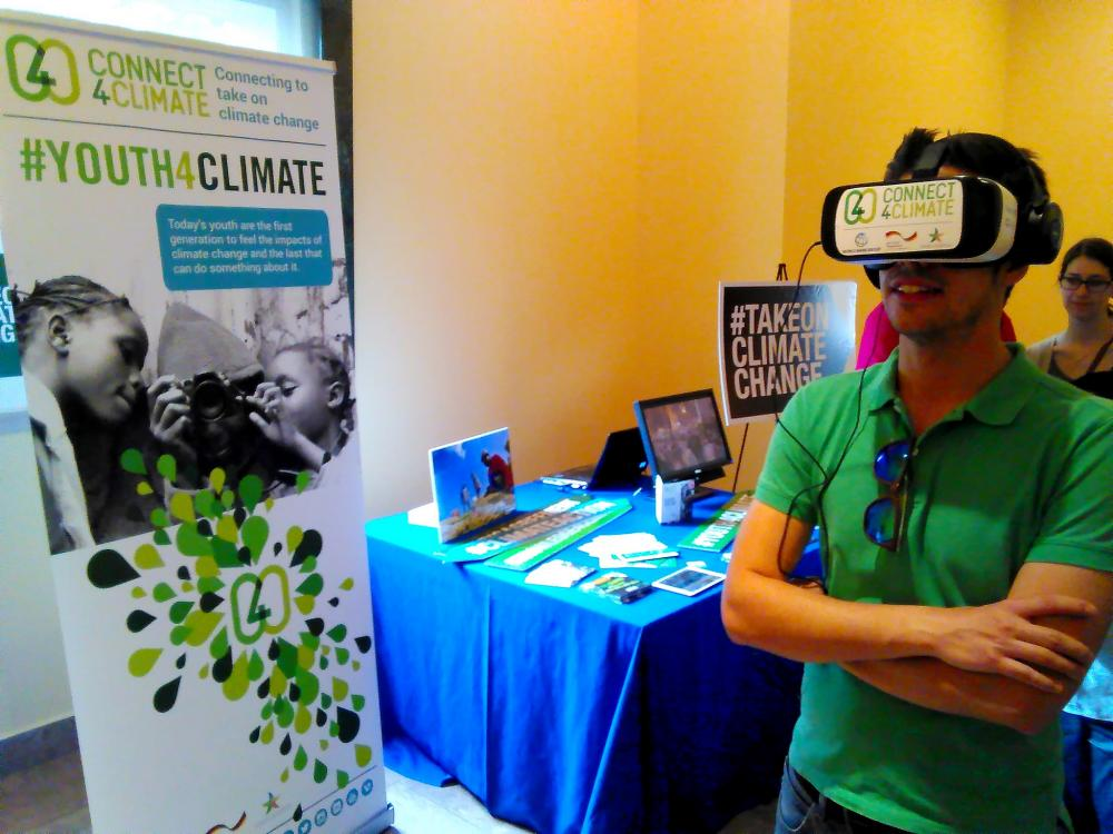Uniting4Climate Virtual Reality Pitch Competition