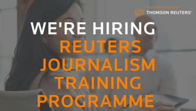 Reuters Journalism Training Programme