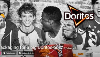 Bold packaging for a big Doritos buzz challenge