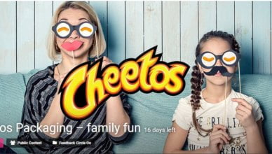 Cheetos Packaging – family fun contest