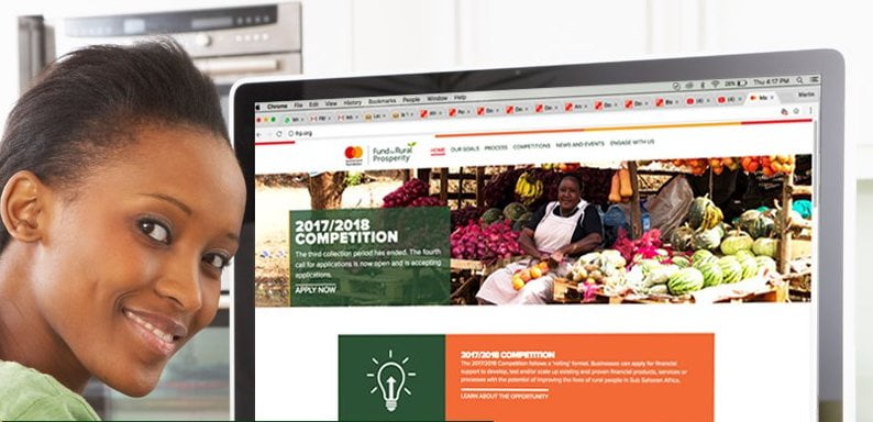 Mastercard Foundation Fund for Rural Prosperity Competition