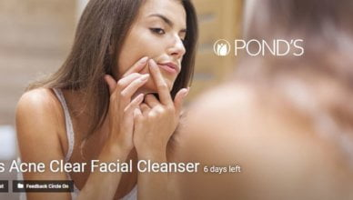 Pond's Acne Clear Facial Cleanser contest