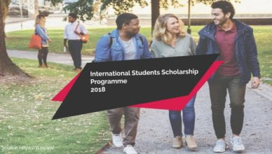 International Students Scholarship Programme 2018