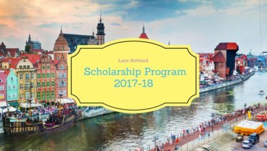 Lane Kirkland Scholarship Program 2018