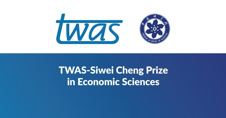 TWAS-Siwei Cheng Prize in Economic Sciences