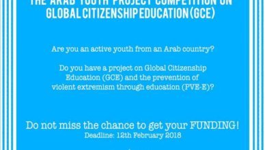 UNESCO Arab Youth Project Competition on Global Citizenship Education