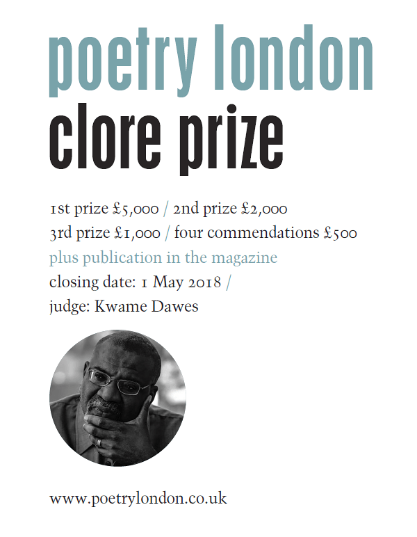 Poetry London 2018 Competition