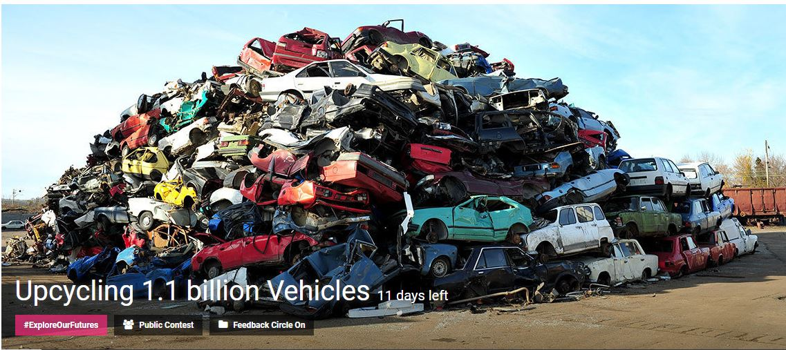 Upcycling 1.1 billion Vehicles Innovation challenge