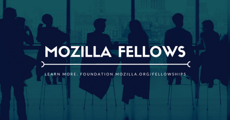 Fully funded Mozilla fellowship