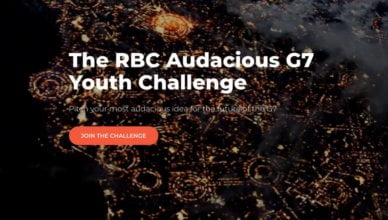 RBC Audacious G7 Youth Challenge 2018