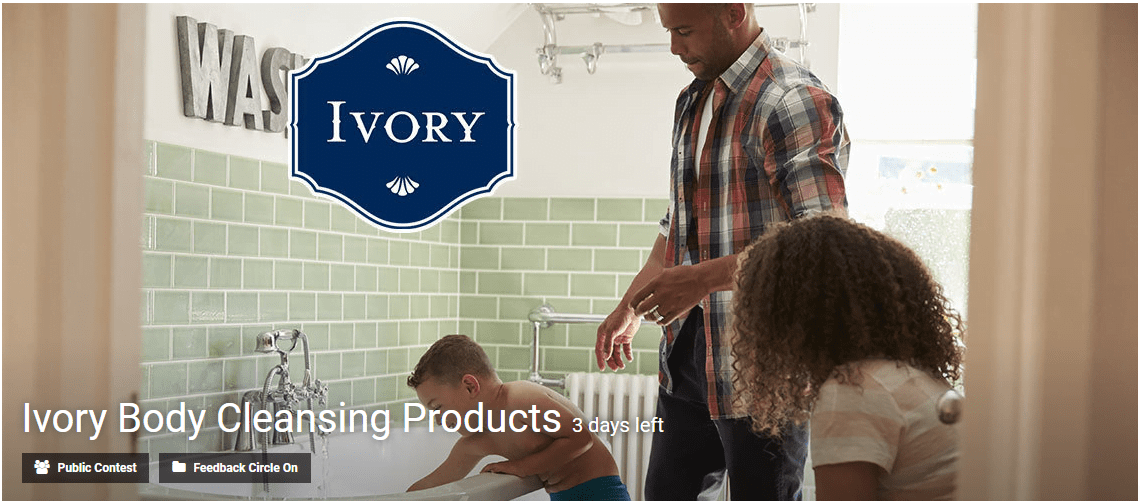 Ivory Body Cleansing Products innovation contest