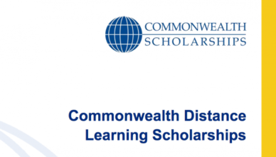 Commonwealth Distance Learning Scholarships for Master's Study