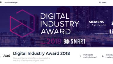 Digital Industry Award 2018