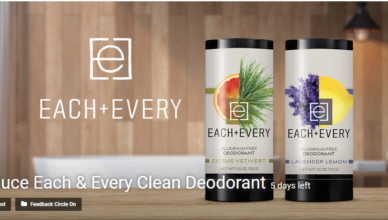 Introduce Each & Every Clean Deodorant Innovation challenge