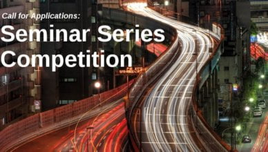 Urban Studies Foundation Seminar Series Funding Competition 2018