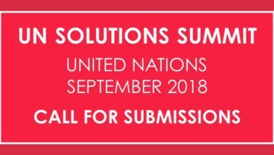 Apply for the UN Solutions Summit