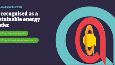 Ashden International Awards 2019 for Green Entrepreneurs from Developing Nations
