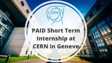 CERN Short Term Internship