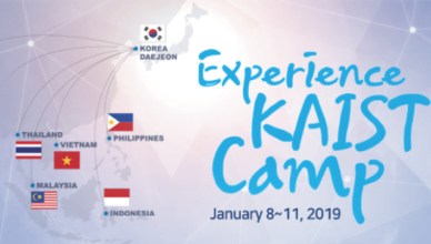 Experience KAIST Camp in South Korea