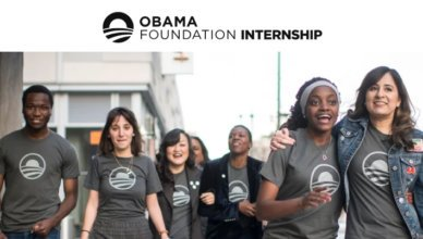 Obama Foundation Spring 2019 Internship for Students in the United States