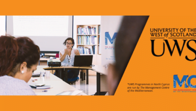 The Management Centre of the Mediterranean Scholarship for U.K Master's Degree
