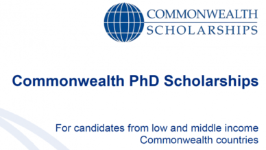 Fully Funded Commonwealth PhD Scholarships