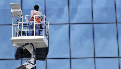 New Window-Cleaning Solution for Tall Buildings