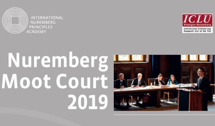 Nuremberg Moot Court 2019 for Law Students