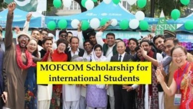 Chinese Government's MOFCOM Scholarship