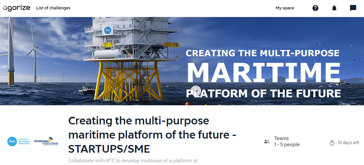 Creating the multi-purpose maritime platform of the future - STARTUPS/SME